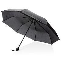 """Механический зонт с чехлом-сумкой, 21"""", черный, , высота 56 см., диаметр 97 см., P850.311"""