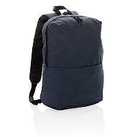 Рюкзак Casual (не содержит ПВХ), темно-синий, Длина 25 см., ширина 14 см., высота 38 см., P760.049
