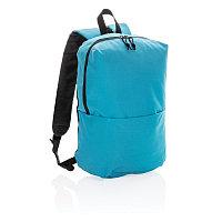 Рюкзак Casual (не содержит ПВХ), голубой, Длина 25 см., ширина 14 см., высота 38 см., P760.045