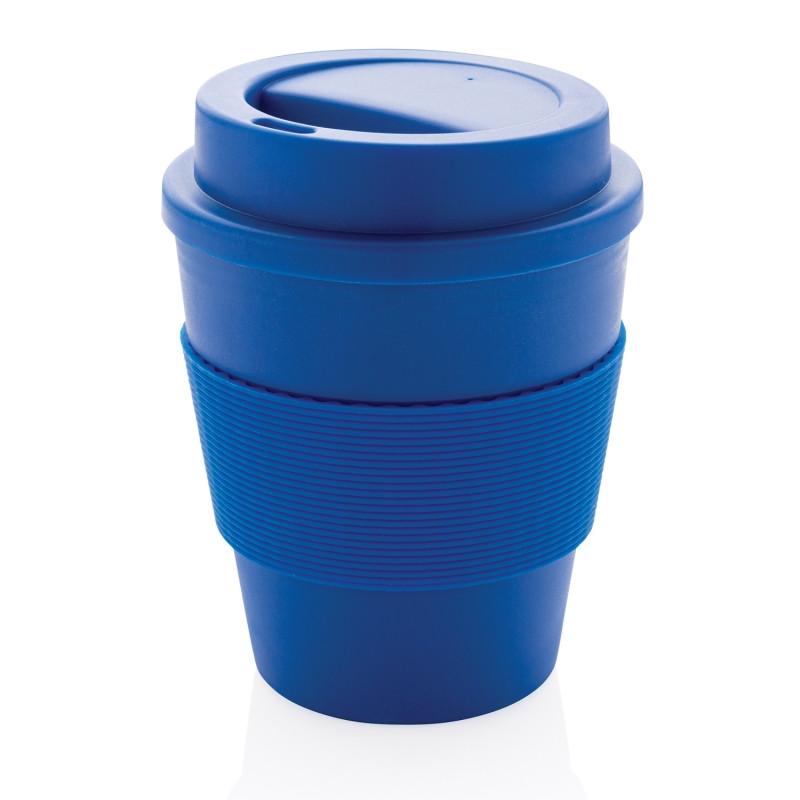 Стакан для кофе с закручивающейся крышкой, 350 мл, синий, , высота 11,8 см., диаметр 9 см., P432.685