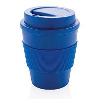 Стакан для кофе с закручивающейся крышкой, 350 мл, синий, , высота 11,8 см., диаметр 9 см., P432.685, фото 1
