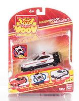 Машинка-трансформер VooV Toyota PRIUS - Полицейский автомобиль