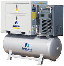 Винтовой компрессор Lupamat с ресивером.