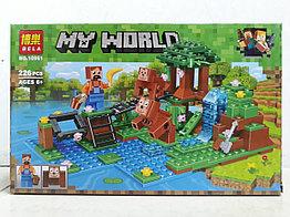 Конструктор Bela My world 10961 226 pcs. Minecraft. Майнкрафт