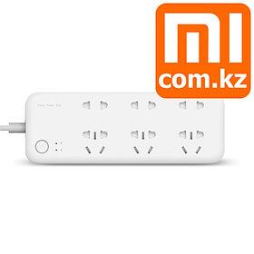 Удлинитель c Wifi с подсчетом затраченной энергии Xiaomi Mi Smart Power Strip. Оригинал. Арт.4917