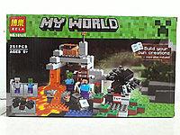 Конструктор Bela My world 10174 251 pcs. Minecraft. Майнкрафт