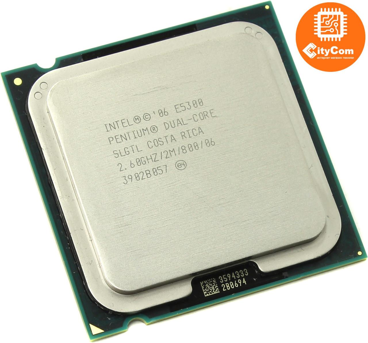 CPU S-775 Intel Pentium DualCore E5300 2.6GHz Арт.1378