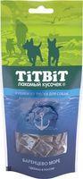 Tit Bit, Тит Бит Кубики из трески для собак 75 гр