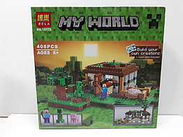 Конструктор Bela My world 10176 408 pcs. Minecraft. Майнкрафт