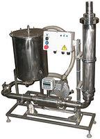 Комплект оборудования для учета и фильтрации молока ИПКС-0121-25000УФ(Н)