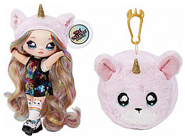NA! Na! Na! Surprise - мягкие куклы с животным-помпоном-сумочкойBritney Sparkles единорожка от MGA