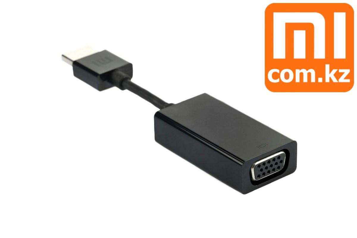 Адаптер (переходник) HDMI to VGA Xiaomi, cable XiaoMi Mi. Конвертер. Оригинал. Арт.4627