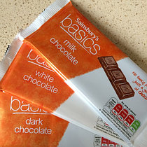 Темны шоколад Sainsbury's Dark Chocolate, Basics 100гр