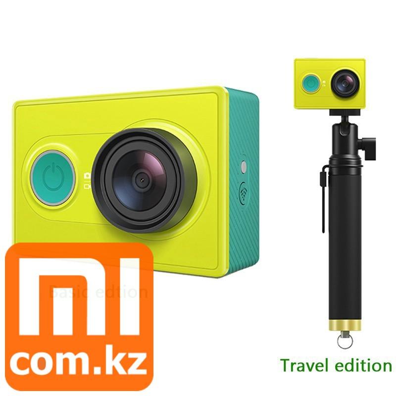 Экшн-камера + монопод XiaoMi Mi Yi Camera. Оригинал. Арт.3842