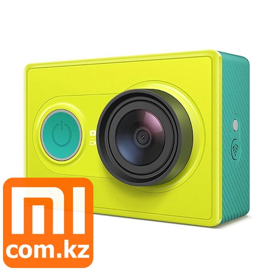 Экшн-камера XiaoMi Mi Yi Camera, зеленая. Action camera. Оригинал.