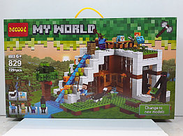 Конструктор Decool My world 829 729 pcs. Minecraft. Майнкрафт