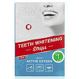 Global White Отбеливающие полоски для зубов - Видимый результат за 7 дней, фото 2