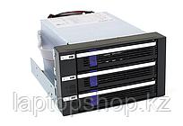 Система хранения данных ICY Dock MB153SP-B 3x3.5inch SATA 2x5.25 Bay Hot-Swap