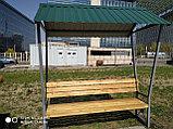 Скамейка с навесом, фото 4