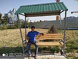 Скамейка с навесом, фото 5