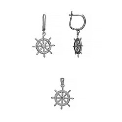 Серебряный набор   Brosh Jewellery (Серебро 925)