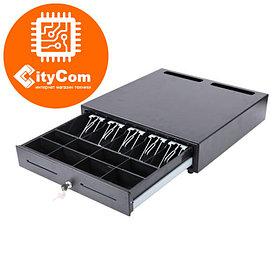 Денежный ящик для купюр и монет Sunphor SUP-4142B. Кассовый ящик. Автоматический. Арт.2866