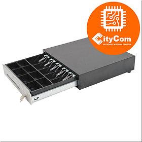 Денежный ящик для купюр и монет (cash drawer) CITAQ CR-9410 Кассовый ящик. Автоматический.