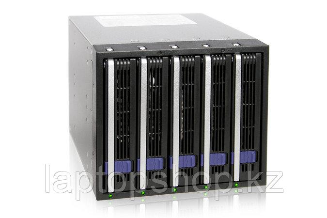 Система хранения данных ICY Dock MB455SPF-B 5x3.5inch SATA 3x5.25 Bay Hot-Swap