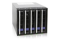 Система хранения данных ICY Dock MB455SPF-B 5x3.5inch SATA 3x5.25 Bay Hot-Swap, фото 1