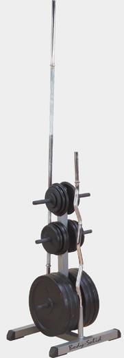 Подставка для стандартных дисков и грифов--Body Solid GSWT