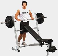 Универсальная скамья для жима--Body Solid Powerline POB44