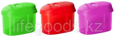 Банка для сыпучих продуктов с дозатором 0,8 л GR3610МИКС, фото 2