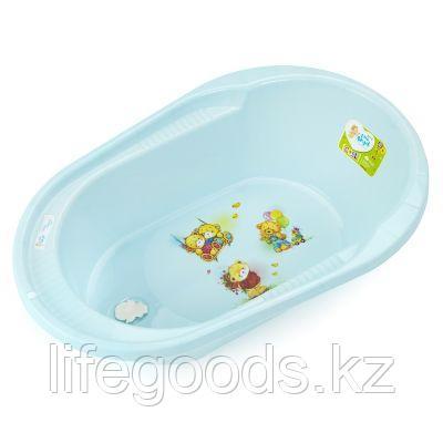 """Ванночка детская """"COOL""""  с дизайном """"Bears"""",42 л LA4107"""