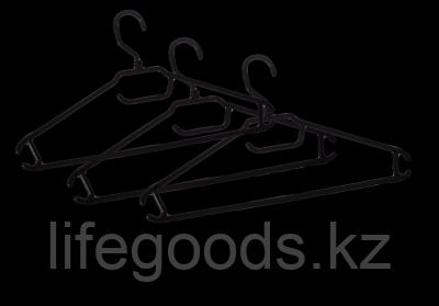 Вешалка-плечики для легкой одежды 48-50 (комплект 3 шт) Go light BQ1884ЧР, фото 2