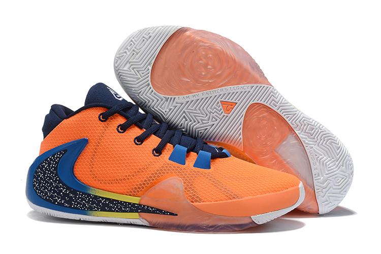 "Баскетбольные кроссовки Nike Zoom Freak 1 ""Orange"" from Giannis Adetokunbo"