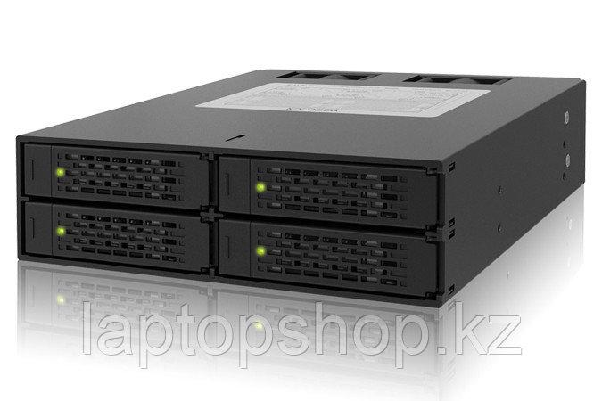 """Система хранения данных ICY Dock MB994SP-4SB-1 4x2.5"""" Drive to 5.25"""" Bay SATA, 2x40mm fan."""