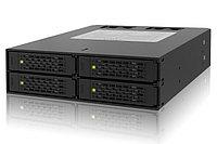 """Система хранения данных ICY Dock MB994SP-4SB-1 4x2.5"""" Drive to 5.25"""" Bay SATA, 2x40mm fan., фото 1"""