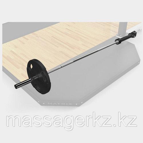 MATRIX MAGNUM MOPT13 Крепление для олимпийского грифа для силовой рамы MEGA Power Rack