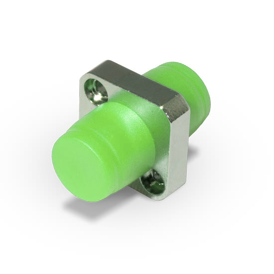 Адаптер оптический FC/APC SM (фланцевый тип)