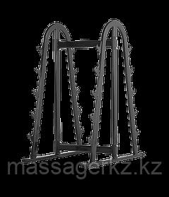 BRONZE GYM H-039 Подставка для грифов (ЧЕРНЫЙ)