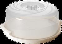 Крышка для СВЧ Bono с паровыпускным клапаном D250 с поддоном