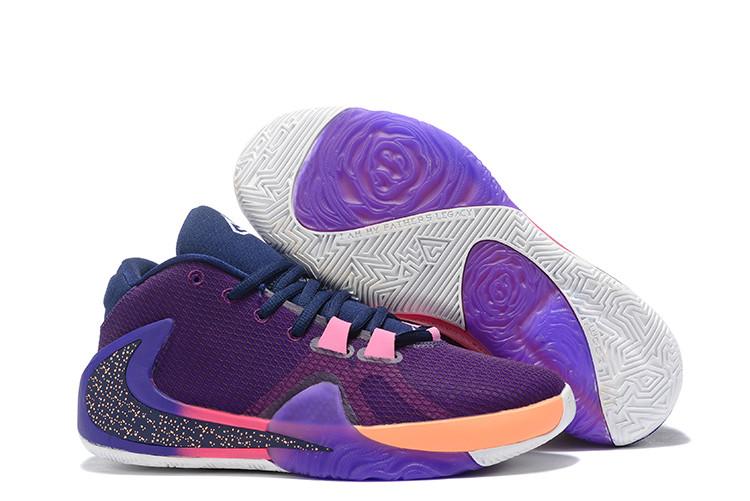 "Баскетбольные кроссовки Nike Zoom Freak 1 ""Violet"" from Giannis Adetokunbo"