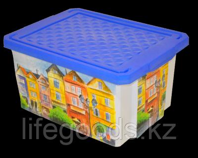 Ящик для хранения Optima Город 17л