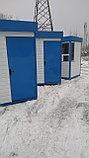 Пост охраны 1,5х1,5х2,5м синий, фото 4
