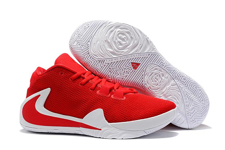 "Баскетбольные кроссовки Nike Zoom Freak 1 ""Red"" from Giannis Adetokunbo"