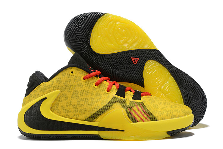"Баскетбольные кроссовки Nike Zoom Freak 1 ""Bruce Lee"" from Giannis Adetokunbo"