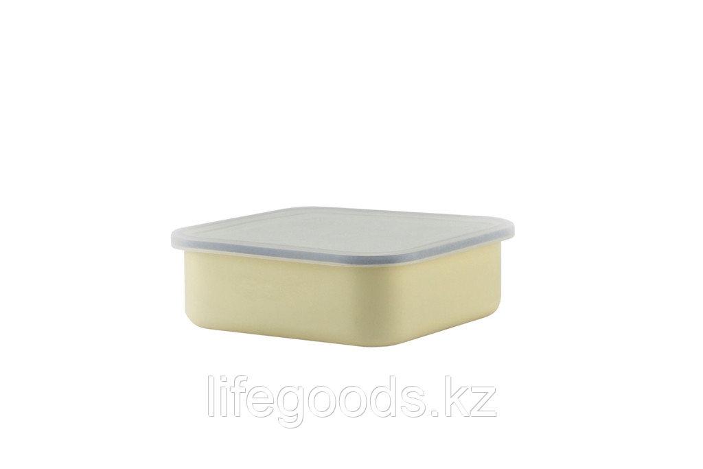 Лоток с пластмассовой крышкой 1л, 03-2507п