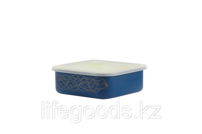 Лоток с пластмассовой крышкой 1л, 24-2507п/6, фото 2