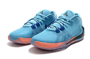 "Баскетбольные кроссовки Nike Zoom Freak 1 ""Blue-Orange"" from Giannis Adetokunbo, фото 2"