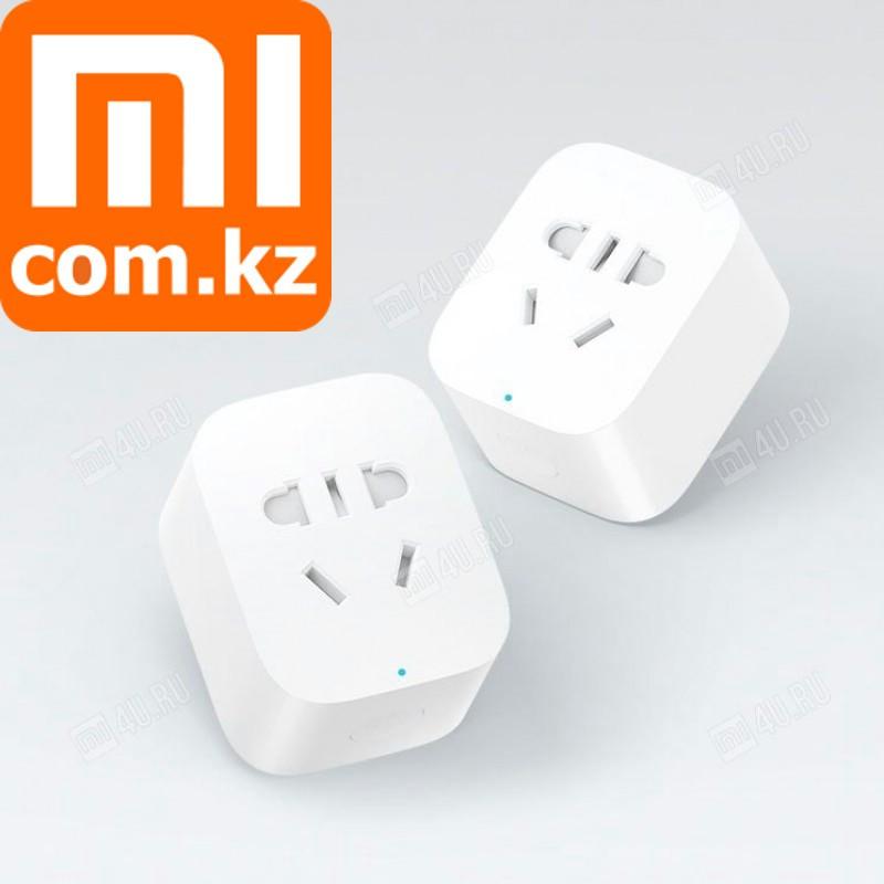 Беспроводная розетка 220В Xiaomi Mi Smart Socket ZigBee. Умная. Таймер на вкл/выкл и др. Оригинал. Арт.4911